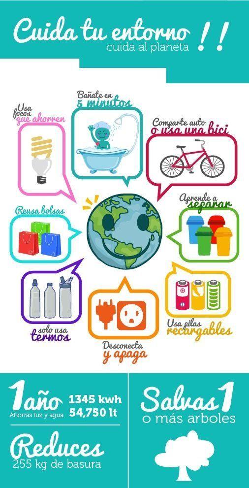 15 Consejos Para Cuidar El Medio Ambiente Environmental