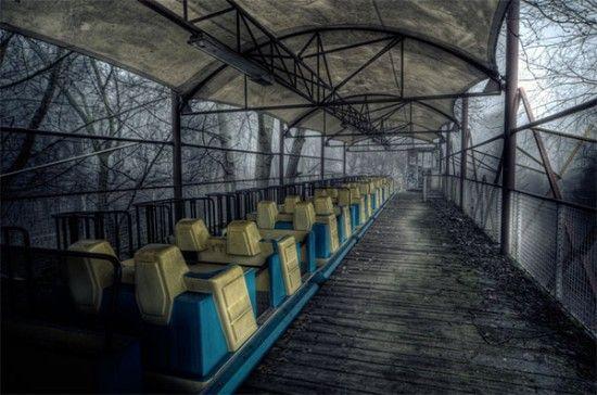 parc d'attractions abandonné - Berlin