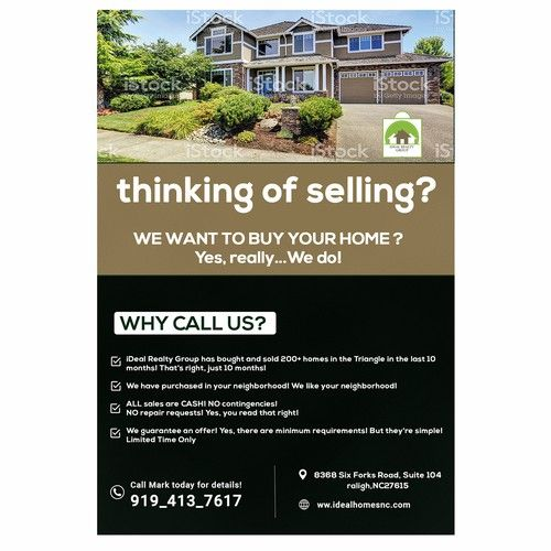 We Buy Houses Cash Because We Have All The Moneys Ohhh Yes Postcard Flyer Or Print Contest Sponsored Postcard Flyer Prin We Buy Houses Flyer Printing Flyer