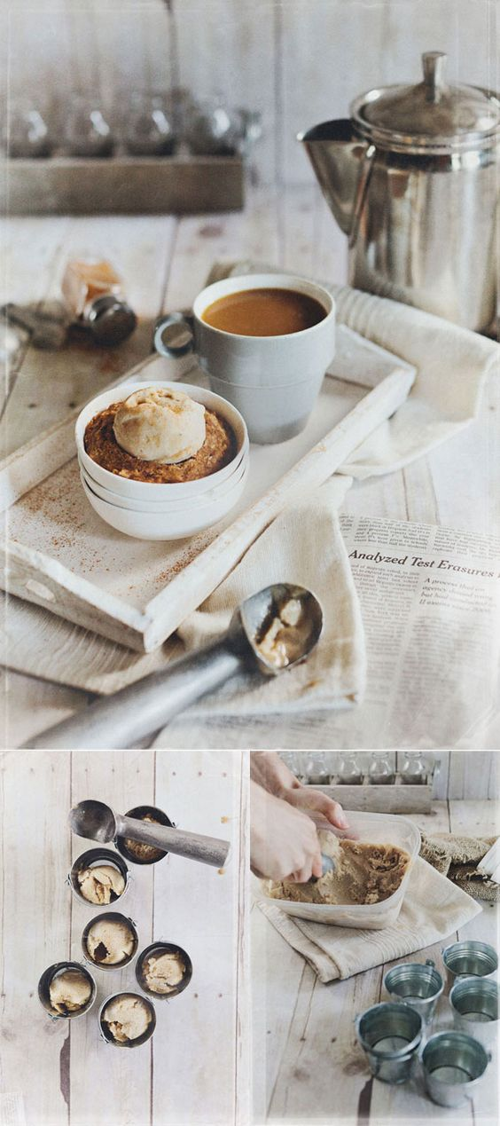 Breakfast in just 2 minutes..mini carrot cakes and banana ice cream combo..wow!! @vkreesphotography #recipes #vegetarian #healthy #dessert #cake