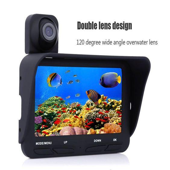 eyoyo 20m underwater fish finder black ir led underwater camera, Fish Finder