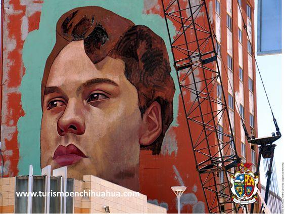 El Mural Dedicado A Juan Gabriel Que Se Esta Pintando En