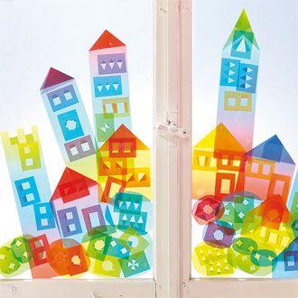 Fensterdeko kita pinterest - Fensterdeko sommer ...