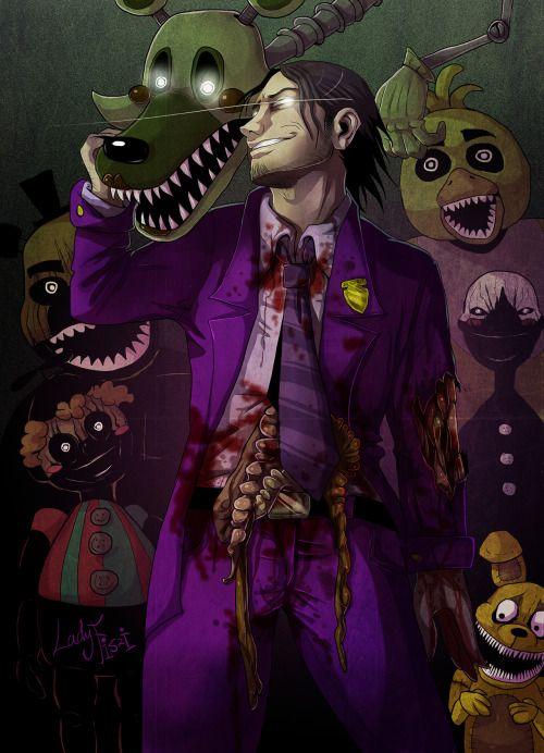 Lady Fiszi S Artwork With Images Purple Guy Fnaf Fnaf Art
