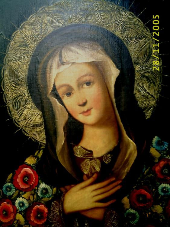 Madonna of Cuzco Painting. Fernando Ferraro