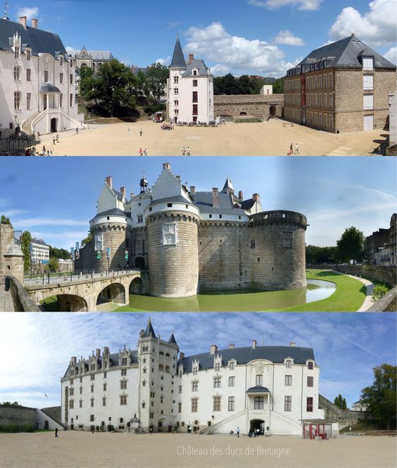 Castle of the dukes of brittany is a large castle located in the city
