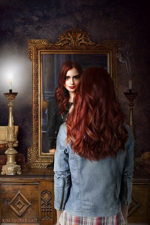 Learning who she really is... Lily Collins as Clary Fray ...