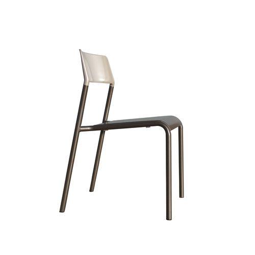 Chaise contemporaine / empilable / en métal peint / contract FRC1700-MSF Maglin Site Furniture