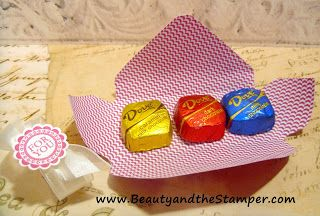 Treat Holder using Stampin' Up! Envelope Punch Board by We R Memory Keepers | Jean Piersanti