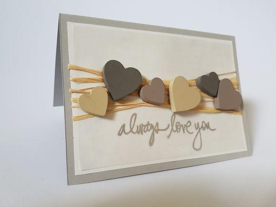 Liebeskarte DIY - Always Love You