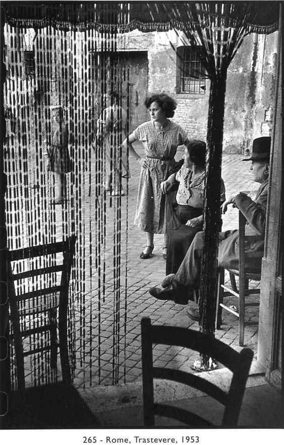 Foto di Henri Cartier-Bresson.