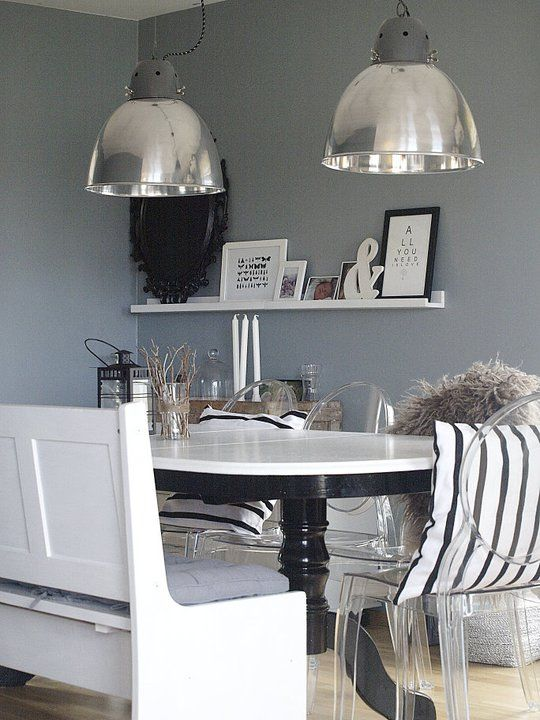 #Industrial #Lighting #Kitchen Industrial lighting is making a big comeback