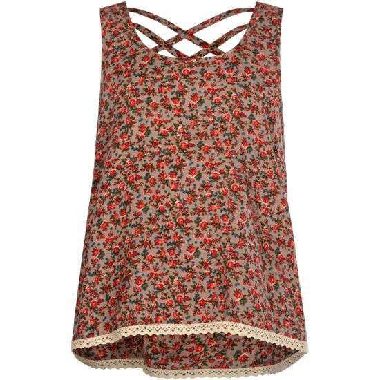 FULL TILT Cross Back Girls Swing Tank #tillys #girls #fulltilt