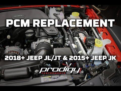 Jeep Pcm Replacement Procedure 2018 Jl Jt 2015 Jk Youtube