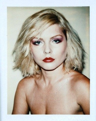 Debra Harry polaroid by Andy Warhol