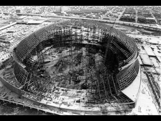 Super dome being built new orleans pinterest for Will call mercedes benz stadium