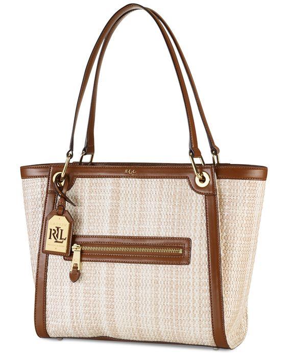 Lauren Ralph Lauren Waterston Shopper - Lauren Ralph Lauren - Handbags & Accessories - Macy's