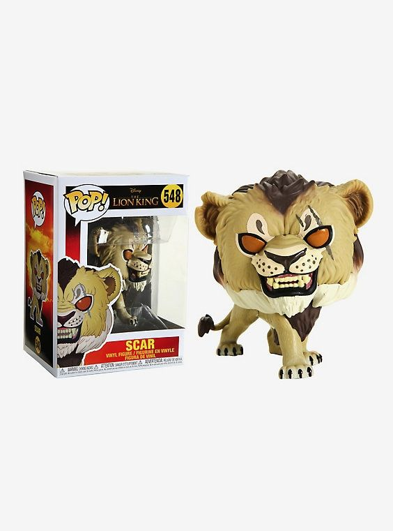 Funko Disney Pop The Lion King Scar Vinyl Figure Lion King Toys Vinyl Figures Disney Pop