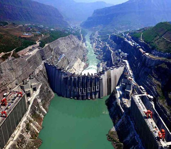 XILUODU DAM, CHINA