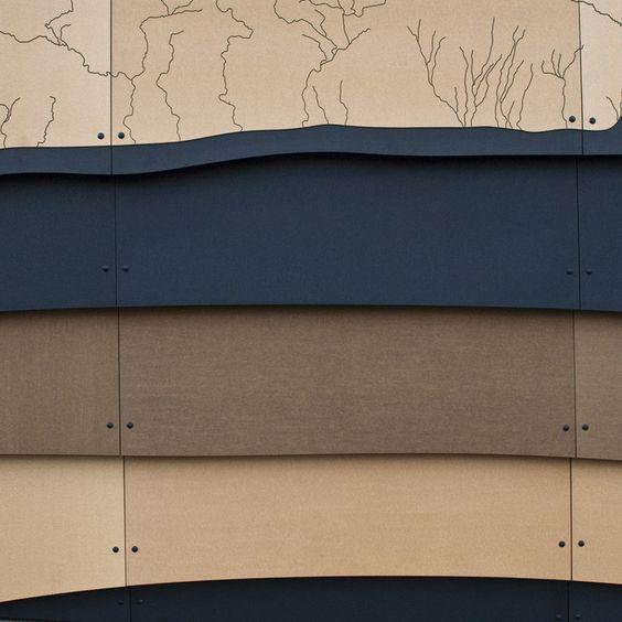Paper Composite Siding - Richlite Rainshadow / Intectural