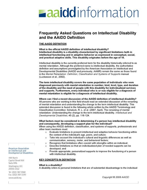 definitions and overviews of intellectual disabilities Developmental therapy services provide comprehensive, long-term services to help individuals with developmental disabilities.