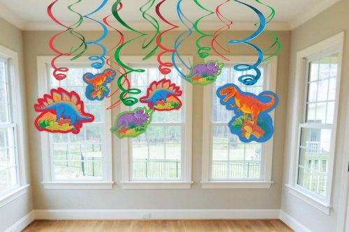 Dinosaur Party Swirl Ceiling Decorating Kit $7.99 (save $3.00) + Free Shipping