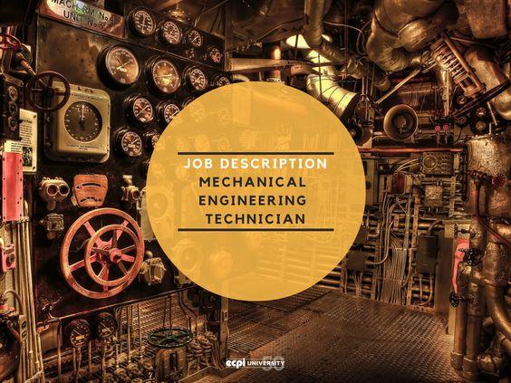 25+ ide terbaik Mechanical engineering technician di Pinterest - mechanical engineering job description
