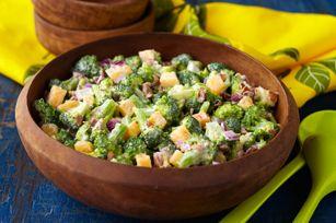 Tangy Tropical Broccoli Salad recipe