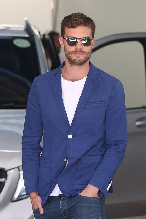 Jamie Dornan Out in London August 2016 |