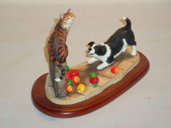 Border Fine Arts James Herriot Take No Notice Cat Dog Figurine