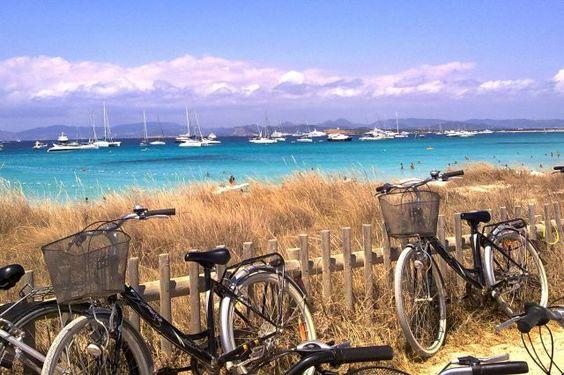 Bicicletas en Formentera