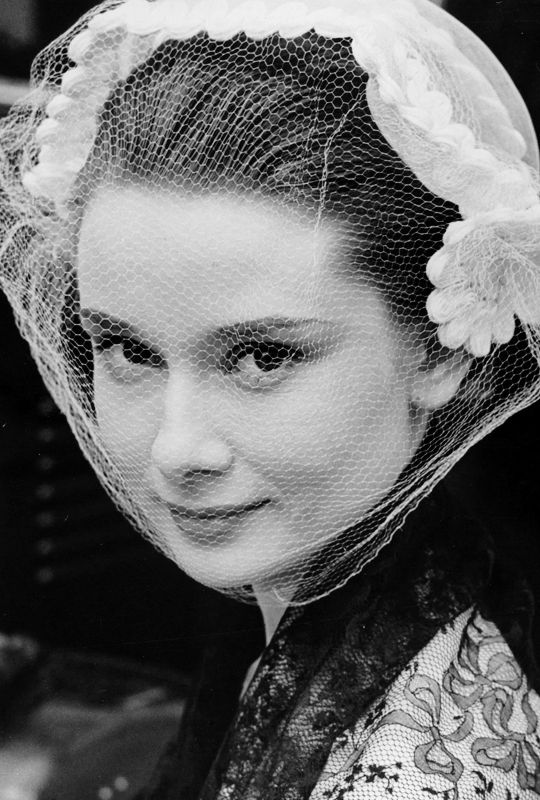 Audrey Hepburn photographed at Ealing Studios, London, 1951 Classic Hollywood Stars: