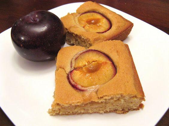 Dimply Plum Cake | Recipes - coffee cakes | Pinterest | Plum Cake ...