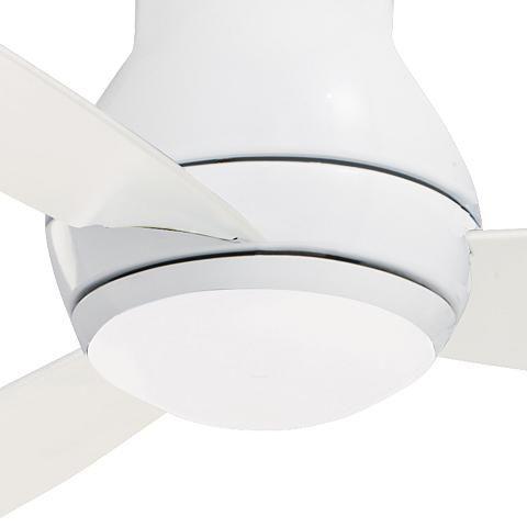52 Emerson Curva Sky Wet White Hugger Led Ceiling Fan 42n29 Lamps Plus Led Ceiling Fan Ceiling Fan Hugger Ceiling Fan