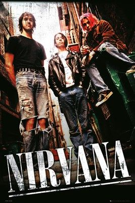 Nirvana: Official Band Merch - Buy Online at Grindstore.com: UK No 1 for Rock Fashion and Merchandise