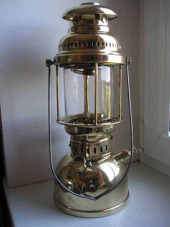 Old Kerosene Lanterns Antique German Kerosene Lantern