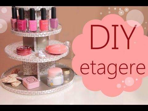 Diy makeup aufbewahrung lippenstift box deko youtube for Zimmerdekoration diy