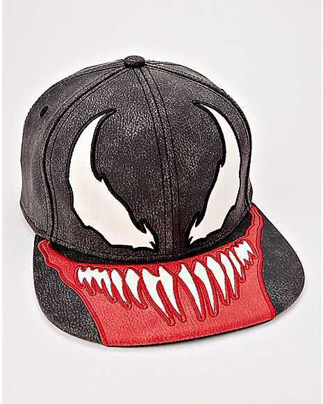 Venom Snapback Hat Marvel Spencer S Hats Snapback Hats Snapback