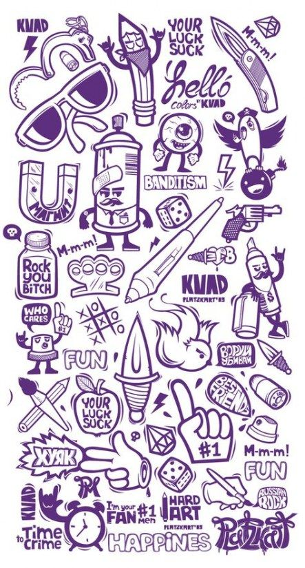Easy Graffiti Ideas : graffiti, ideas, Sketches, Paper, Ideas, Graffiti, Lettering,, Drawing