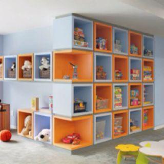 Ideal for a kids room or playroom! Houzz.com