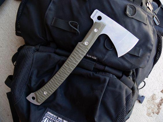 Dervish Tomahatchet prototype tomahawk/hatchet A2