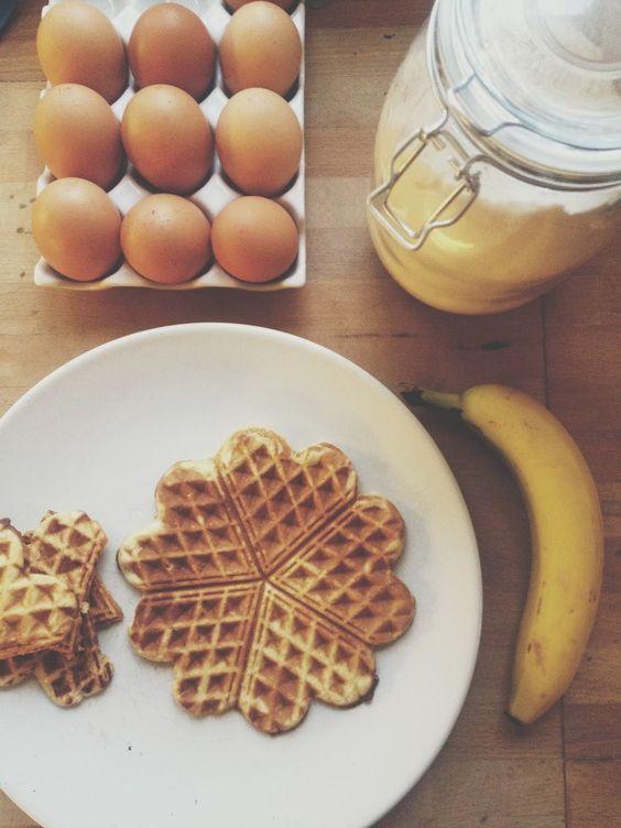 Emily's Three Things: Recipe :: Banana Waffles