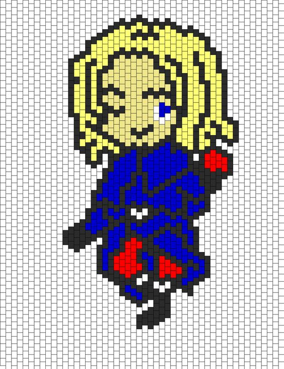 hetalia france bead pattern i think i will try this but in cross stitch my next big project. Black Bedroom Furniture Sets. Home Design Ideas