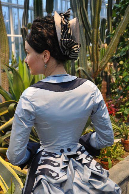 This fantastic dress was made by TIETOJA MINUSTA ...
