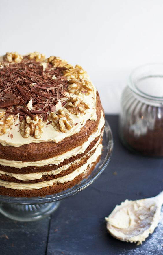 Nigella Lawson's Coffee Walnut Cake