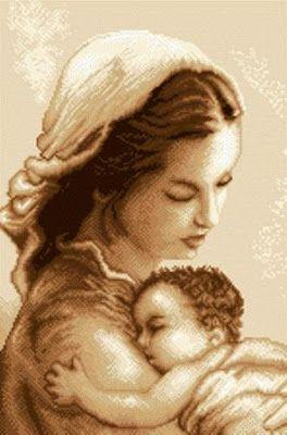 Jézus hazaérkezte Szűz Mária szülése után