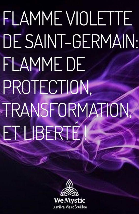 Flamme Violette De Saint Germain Flamme De Protection Transformation Et Liberte Wemystic France Flamme Violette Flamme Saint Germain
