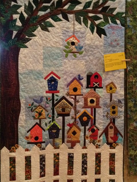 birdhouse quilt blocks | Recent Photos The Commons Getty Collection Galleries World Map App ...: