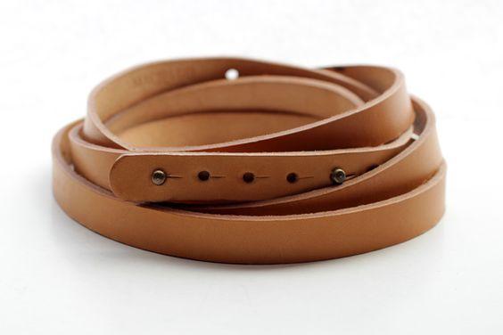 machado handmade (josé machado) | infinity belt in tan (photo by alice bernardo ©) (available here: http://shop.noussnouss.com/products/infinito-belt)