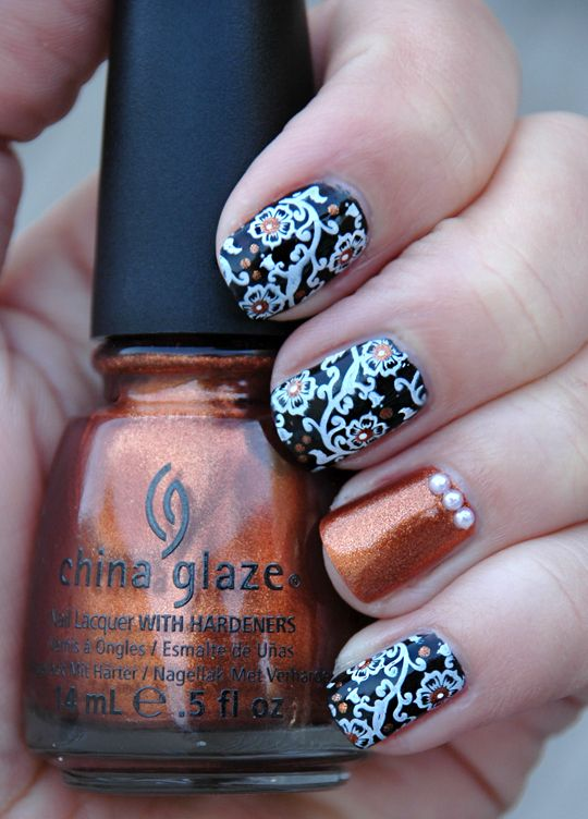 I absolutely LOVE this manicure!!!!